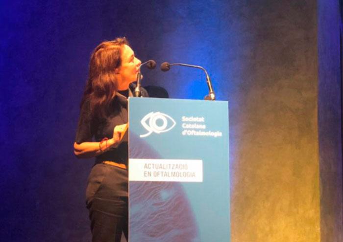 La Dra. Fernandez-Agrafojo en el 50 Congreso de la SCOFT
